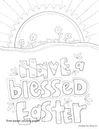 Resurrection Coloring Pages Religious Easter Pdf Free