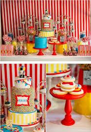 Carnival Birthday Invitations Karas Party Ideas Circus Carnival Boy Girl 5th Birthday