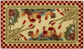 french country rugs nice kitchen rooster room area accent australia blue