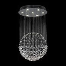 k9 crystal ball chandelier