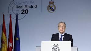 Real Madrid - La Liga: Florentino Perez presents candidacy for Real Madrid  presidency