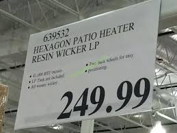 best of costco patio heaters for hexagon patio heater resin wicker 76 costco patio heaters uk