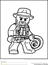 Lego Indiana Jones 2 Coloring Pages Bltidm
