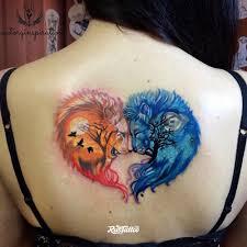 лев значение татуировок в орле Rustattooru