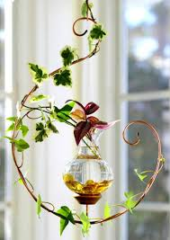 handcrafted in vermont by vermont nature creations these hanging water gardens are an elegant