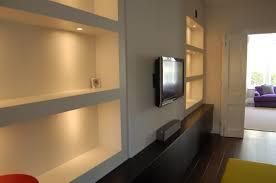alcove lighting ideas. av unit with lit alcove shelving lighting ideas h