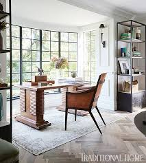 home to office. Tudor-Style Home With A Modern Makeover To Office R