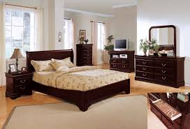 single bed designs. Furniture. Dark Brown Wooden Single Bed With Mocha Bedding Set On Beige Rug Added By Designs L