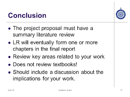 How to write a literature review conclusion   dailynewsreport