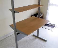 ikea computer desks small spaces home. Fine Home Fullsize Of Formidable Computer Desk Home Ikea Along Brown Wooden Combined  Metal Table Office Desks Small  To Spaces S