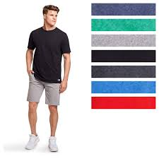 Details About Russell Athletic Mens Dri Power Essential Tee Short Sleeve Moisture Wicking