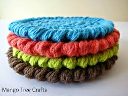 Knit Coaster Pattern Awesome Design Ideas