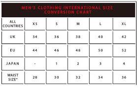 Converse Size Chart Men Size Guide Dakota501