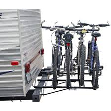 Bike Camper Trailer 2 4 Bike Rv Travel Trailer Bumper Mount Bicycle Rack