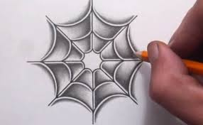 web drawing simple spider web drawing at getdrawings com free for personal use