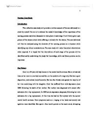 nursing case study university subjects allied to medicine  page 1 zoom in