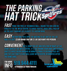 Parking Directions The Wfcu Centre Windsor Ontario