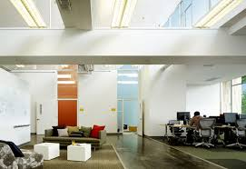 new office designs. View In Gallery Two Enclosed Offices Add Splashes Of Color To Open Office And Sitting Area New Designs