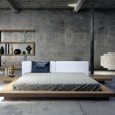 modern contemporary bed. Interesting Contemporary Modern Bed Frames Best Contemporary Beds Cool Platform Zen Queen Size Nice  For O