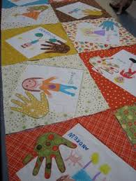 Teacher QUilt ~ Great idea for kids drawings! The students could ... & ::Seattle Modern Quilting Guild Adamdwight.com