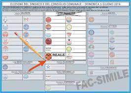 Elezioni Napoli, come si vota ed i fac-simile della scheda ...