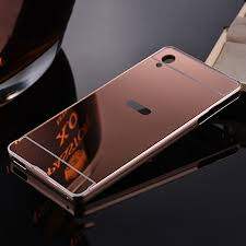 sony xperia z5 premium gold. aliexpress.com : buy for sony xperia z5 premium case mirror acrylic phone cover plating aluminum metal frame coque from reliable gold