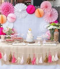 Baby Shower Decorations For A Girl Ideas 38 Adorable Girl Ba Shower Decor  Ideas Youll Like Digsdigs
