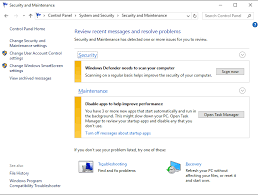 system and security and then security and maintenance to open window below in this window the change windows smartscreen settings link on