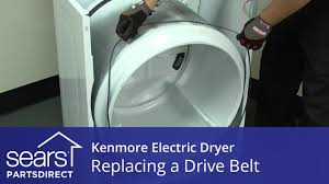 kenmore 80 series dryer belt. how to replace a kenmore electric dryer drive belt 80 series