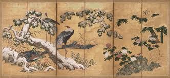 seasonal imagery in japanese art  essay  heilbrunn timeline of  birds and flowers of the four seasons