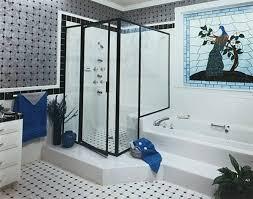 black shower doors