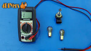 Test Light Bulb With Multimeter How To Test For A Faulty Light Bulb