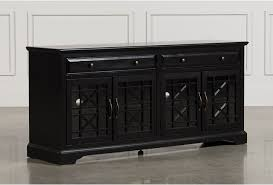 living spaces tv stand. Annabelle Black 70 Inch TV Stand - 360 Living Spaces Tv T