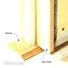 installing a door frame how to install an exterior door frame replace exterior door frame how