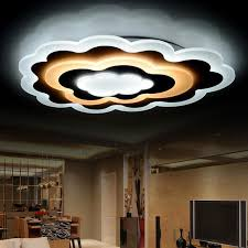 stunning lighting.  Lighting Unique Cloud Shaped Led Flush Mount Ceiling Light Inside Lights Plans 3 With Stunning Lighting