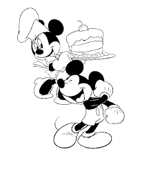 Small Picture 76 best Mickey Mouse Minnie Coloring Pages images on Pinterest