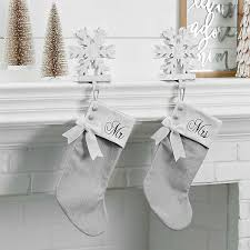 gray christmas stockings.  Stockings Mr And Mrs Gray Christmas Stockings  In Stockings M