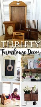 Thrifty Farmhouse Decor ~ Budget Style Decorating