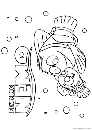 You can print or color them online at getdrawings.com for absolutely free. Finding Nemo Coloring Pages Disney Movie Coloring4free Coloring4free Com