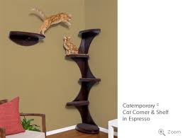 Corner Cat Shelves Some 'different' Cat Trees Things Cat Chat CatWorld Cat 15