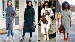wrap coat collage
