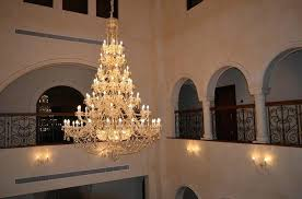 entryway crystal chandelier spellbound lighting