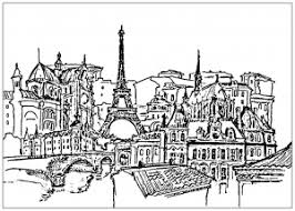 Small Picture Paris Coloring pages for adults JustColor