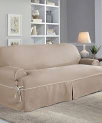look at this taupe ivory relaxed fit t sofa slipcover on zulily today