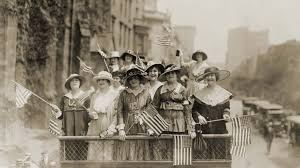 women s suffrage triumph of the grand old party not the democrats smiling