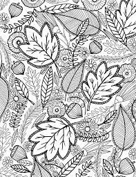 Small Picture a FALL coloring page for you Pinterest Adult
