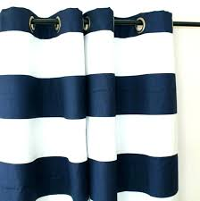 blue white striped curtains navy and with dark