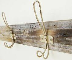 Country Style Coat Rack Wall Coat Rack Made From Reclaimed Pine by BarnAndBox on Etsy 4