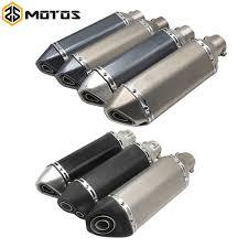 <b>ZS MOTOS</b> Universal <b>51mm</b> Motorcycle Exhaust Modify <b>Akrapovic</b> ...
