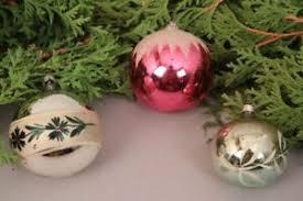 Details Zu Christbaumschmuck Weihnachtskugeln Set Handbemalt Alt Glas Weihnachten Deko